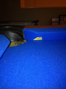 inexperienced pool table mover