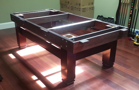 Pool Table Ready For Installation