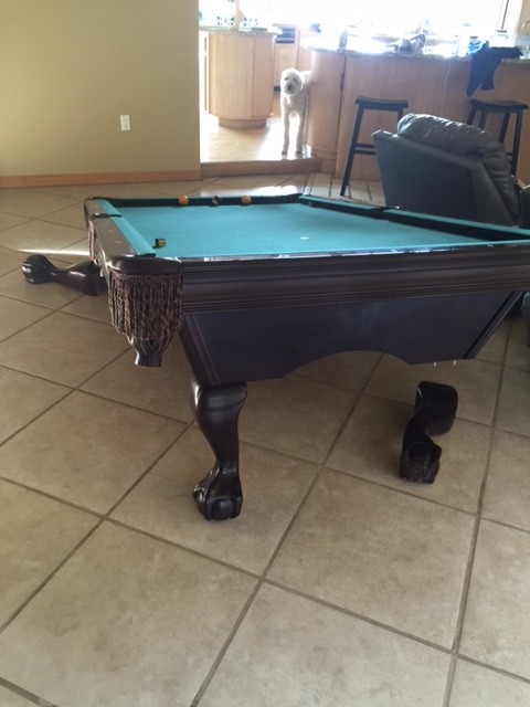 They Hired A Cheap Pool Table Mover Move A Pool Table - Pool table movers tampa