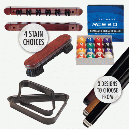 Essentials billiard play package