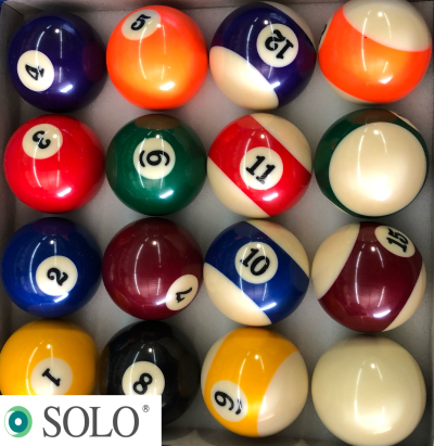Regulation Economy Pool Ball Set Standard Size 2 1 4 Inch