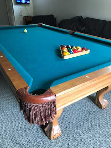 Brunswick pool table for sale Baltimore