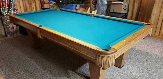 Used Brunswick pool table for sale in Milwaukee