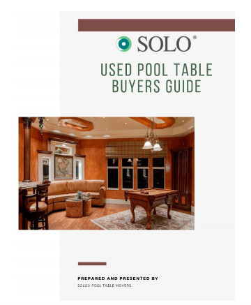 Pool table buyers guide-SOLO® Pool Table Movers