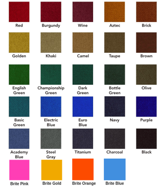 Billiard-table-cloth-colors