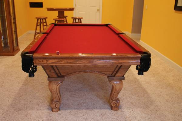 Used pool tables for sale st louis missouri st louis ae schmidt pool table - Billiard table vs pool table ...
