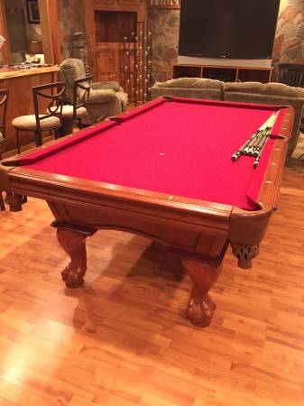 used pool tables for sale pittsburgh pennsylvania pittsburgh rh moveapooltable com american heritage pool table bumpers american heritage pool table bumpers