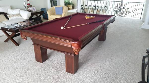 It Is An Authentic Olhausen Pool Table That Cost Me New I Am Letting It Go  For Obo It Is In Great Condition I Hardly Use It Anymore