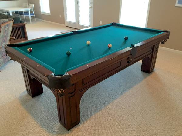 Used Pool Tables For Sale Pittsburgh Pennsylvania Pittsburgh - Olhausen 30th anniversary pool table price