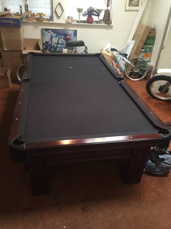9 Ft Olhausen Remington Pool Table · Thumbnail For The Listingu0027s Main Image  Click To Enlarge Image.