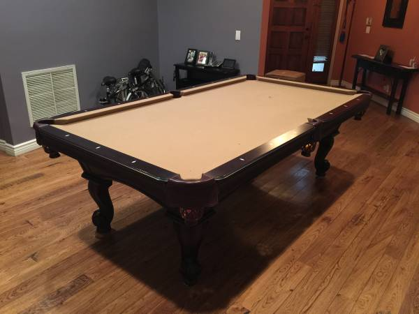 Used Pool Tables For Sale >> Solo Los Angeles California Los Angeles 8 Ft Olhausen Santa