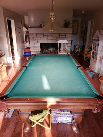 Used Pool Tables For Sale >> SOLO® - Billings - Montana - Billings - 8' Olhausen Pool ...