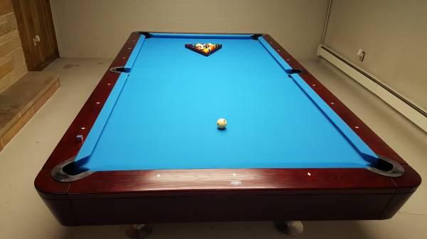 Solo 174 Akron Ohio Akron Diamond Pool Table 9ft Used