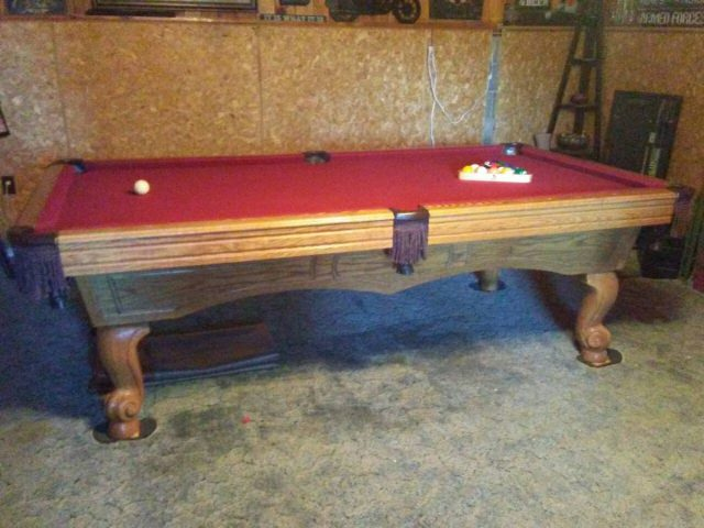 Used pool tables for sale asheville usa north for Table asheville