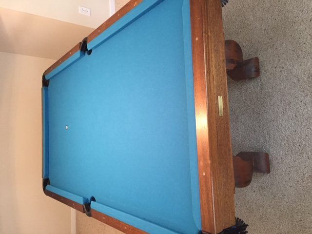 Used Pool Tables For Sale Charlotte Foot Van Wyck Excellent - Pool table movers knoxville tn