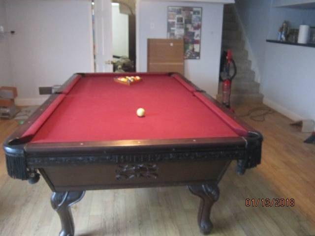 Used Pool Tables For Sale Indianapolis USA Indiana - Murrey billiard table