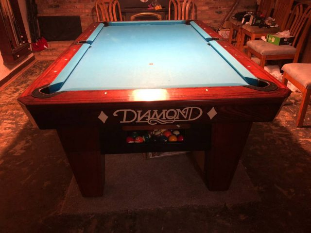 hall views table am pool pro diamond pooltable tables by thailand more