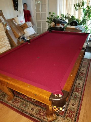 Used Pool Tables For Sale St Louis USA Missouri Stlouise - Brunswick chateau pool table