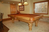8 ft Gorgeous Rustic Pool Table