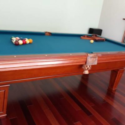 3 pc Slate Pool Table Excellent Condition Delivery And Installation Included