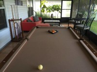 8ft Liberty Billiards Pool Table