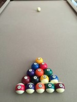 8 ft High End Pool Table
