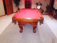 7 ft American Heritage Pool Table
