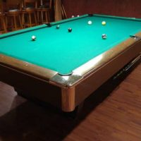 9 ft Gandy Tournament Billiard Table