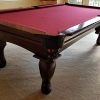 8 Ft Connelly Pool Table w/ Ping Pong Conversion Top