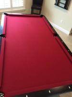 8 ft Legacy Mustang Pool Table