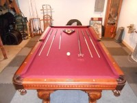 8 ft American Heritage Pool Table