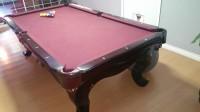 Beautiful Custom High End Pool Table
