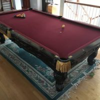 Brunswick Pool Table 9 Ft. Official Size