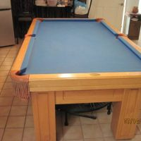 Olhausen Pool Table Light Blue Felt In Great Shape