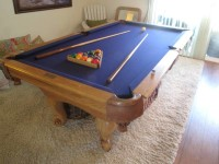 7 ft Oak Pool Table