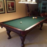 Olhausen Eclipse 8' Pool Table