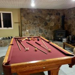 Brunswick Pool Table With Marble Inlays