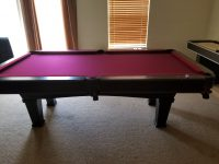 New in box Minnesota Fats Pool table