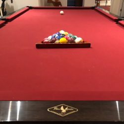 9' Peter Vitalie Le Mieux pool table