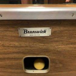 Brunswick Commercial Pool Table 7 Ft One Piece Slate