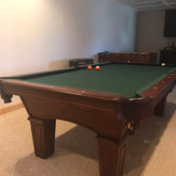 Olhausen Belmont Pool Table - free! Need removed ASAP!