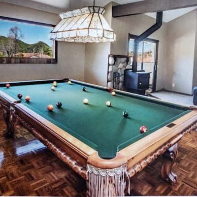 Golden West Billiards Pool Table