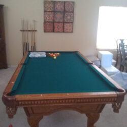 American Heritage 8' Tacoma Pool Table