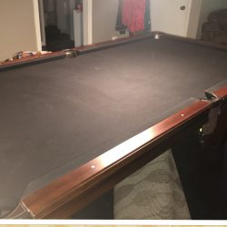 Watson's Full Size Wooden Slate Pool Table