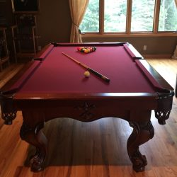 American Heritage 8ft table