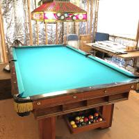 Pro Vintage 9ft V.Loria & Sons Pool Table, Excellent Condition