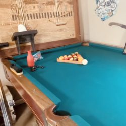 1950s Steepleton Pool Table excellent condition