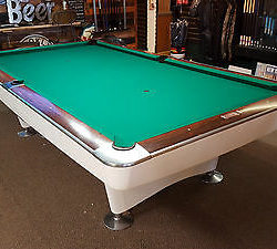 1961 Brunswick Gold Crown I pool table