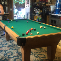 Olhausen ''The Best in Billiards'' Pool Table
