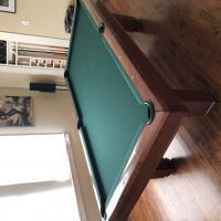 Brunswick Hawthorne Mahogany 8' Pool Table
